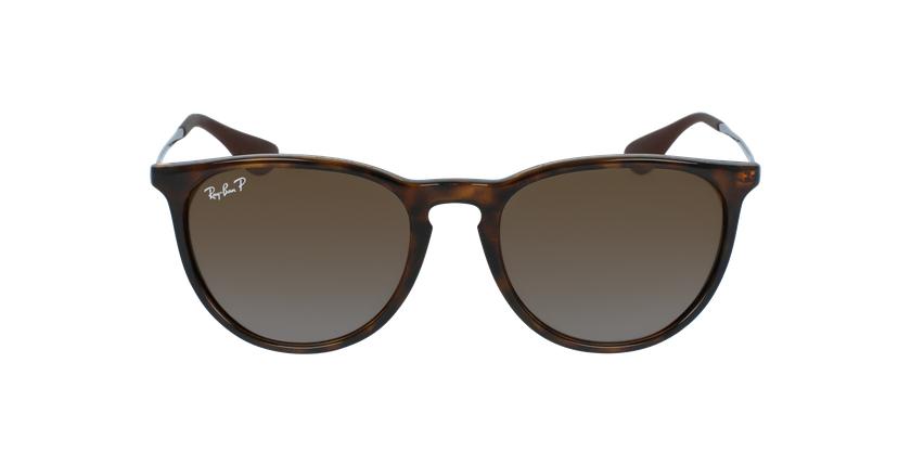 Gafas de sol ERIKA marrón - vista de frente
