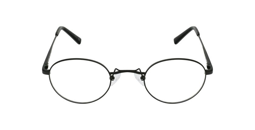 Gafas graduadas ANGE negro - vista de frente