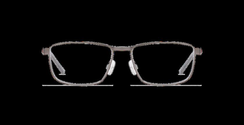 Gafas graduadas hombre ALPHA19 gris - vista de frente