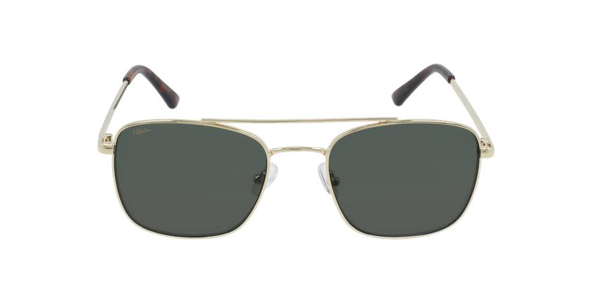 Gafas de sol SAND dorado - vista de frente