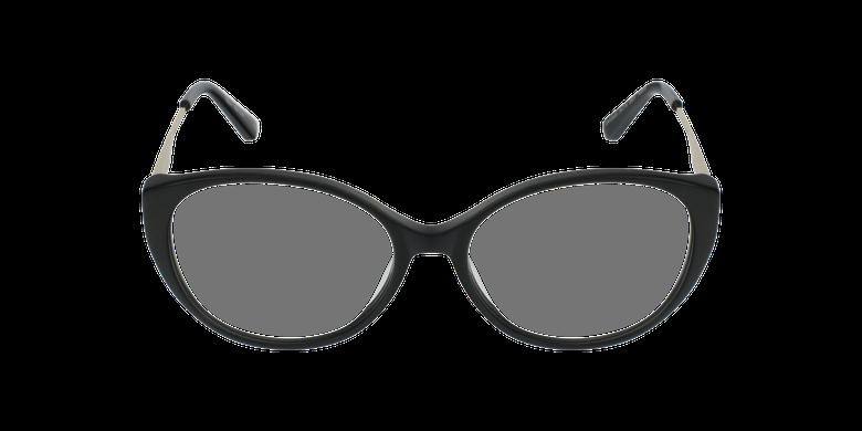 Gafas graduadas mujer LIVIA negrovista de frente