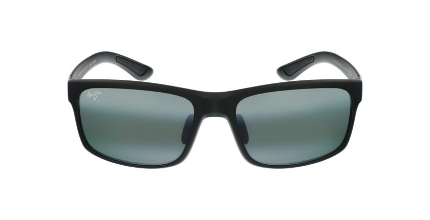 Gafas de sol Pokowai Arch negro/gris - vista de frente