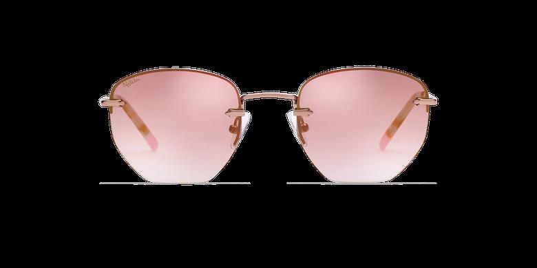 Gafas de sol mujer JENNA rosa/doradovista de frente