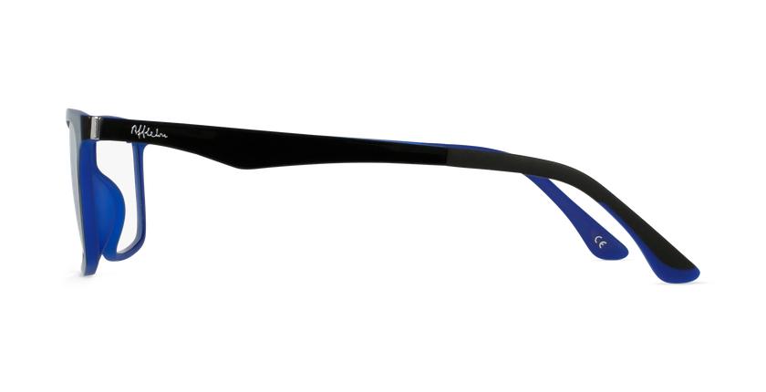 Gafas graduadas hombre MAGIC 32 BLUE BLOCK negro/azul - vista de lado