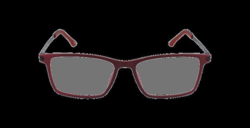Gafas graduadas hombre MAGIC 19 rojo - vista de frente