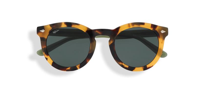 Gafas de sol mujer ANNE carey/verde - vista de frente