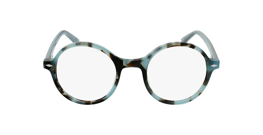 Gafas graduadas CAMELIA carey/azul - vista de frente