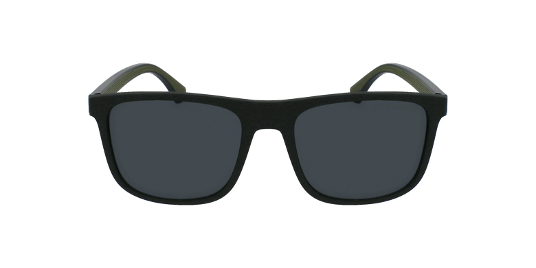 Gafas de sol hombre 0EA4129 negrovista de frente