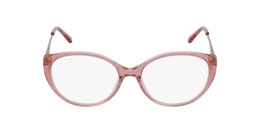 Gafas graduadas mujer LIVIA rosa - vista de frente