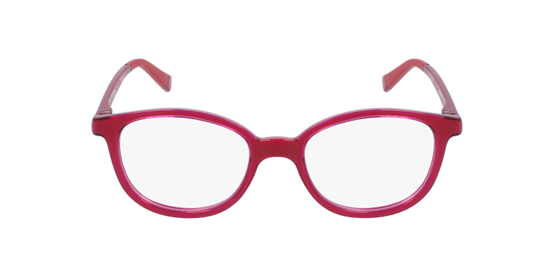 Gafas graduadas niños RFOM1 rosa/rosavista de frente
