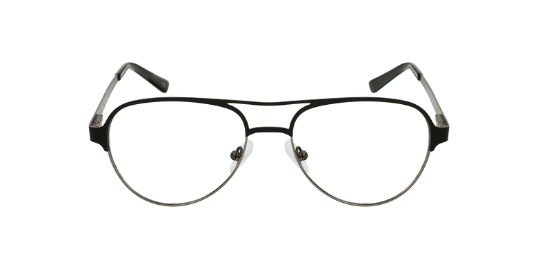 Gafas graduadas NAEL negro/grisvista de frente