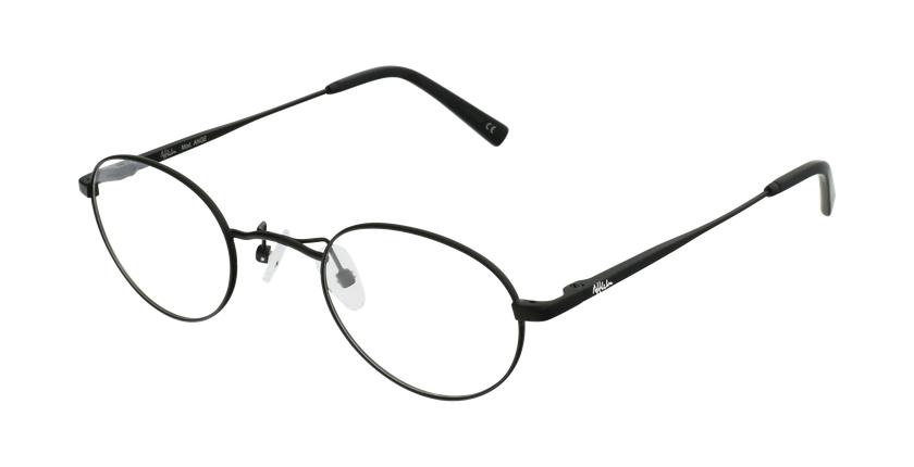 Gafas graduadas ANGE negro - vue de 3/4