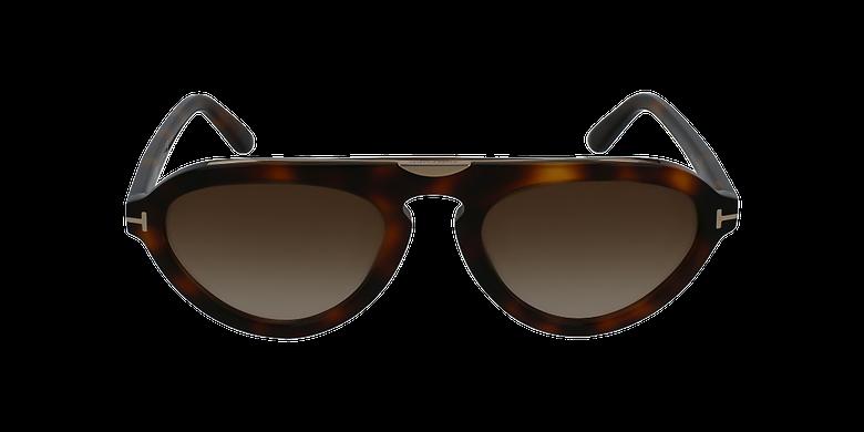 Gafas de sol hombre EUGENIO marrónvista de frente