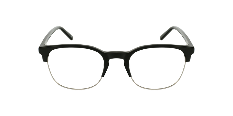 Gafas graduadas OWEN negrovista de frente