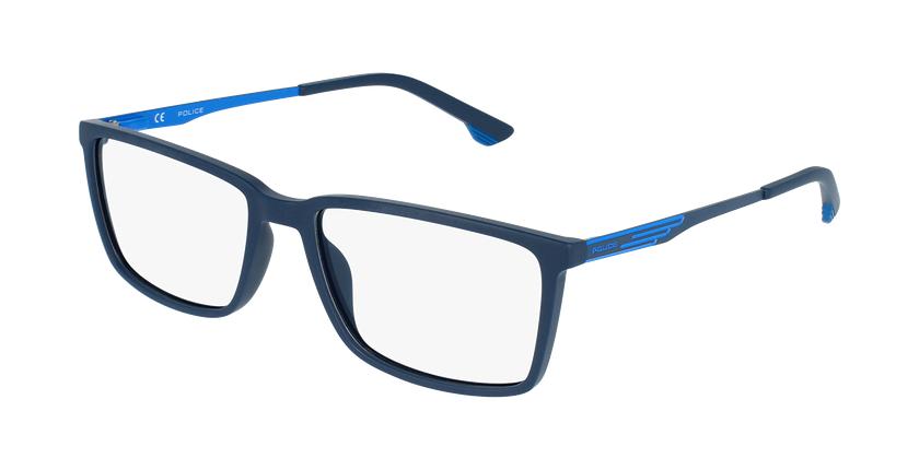 Gafas graduadas hombre VPL949 azul/azul - vue de 3/4