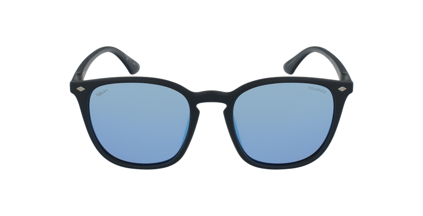 Gafas de sol hombre NAT POLARIZED azul - vista de frente