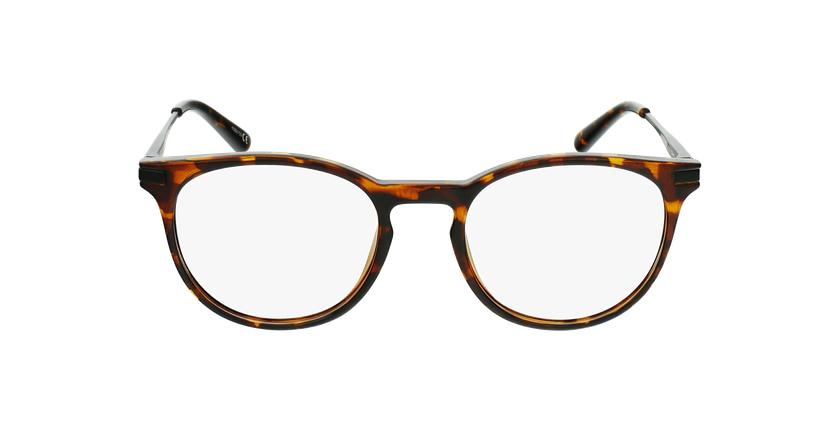 Gafas graduadas niños ANTONIN carey/negro - vista de frente