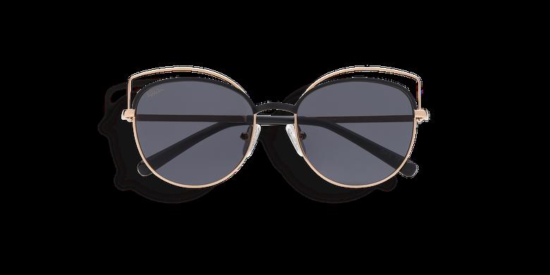 Gafas de sol niños BOOP negro/dorado