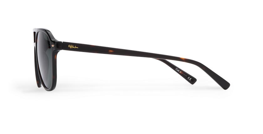 Gafas de sol hombre LUC carey - vista de lado