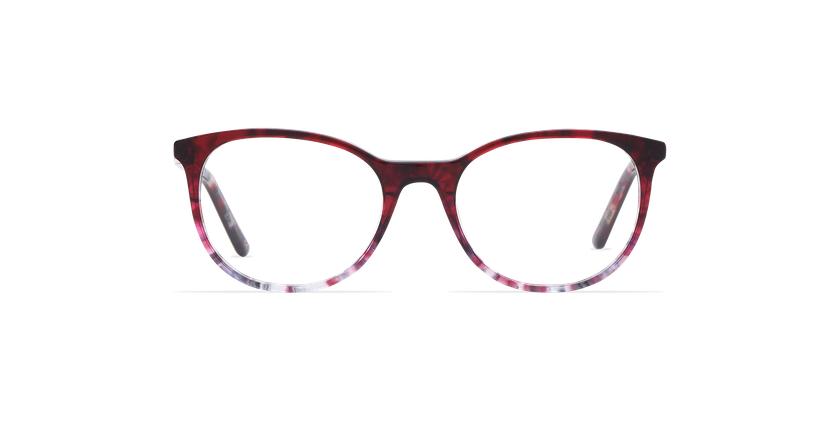 Gafas graduadas mujer MEGAN morado - vista de frente