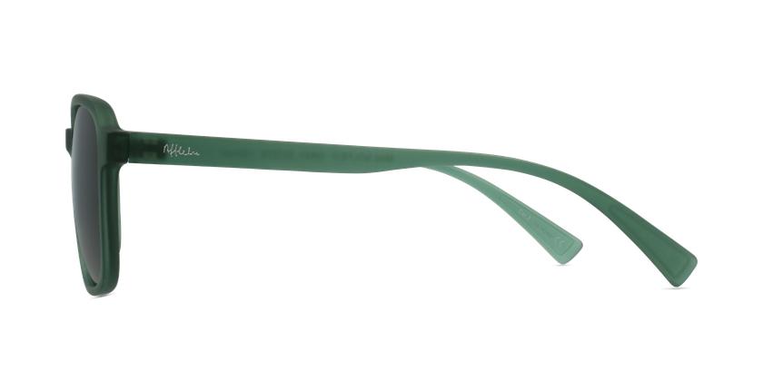 Gafas de sol SOLFEO verde - vista de lado