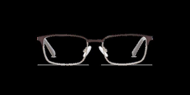 Gafas graduadas hombre ALPHONSE marrón/azulvista de frente