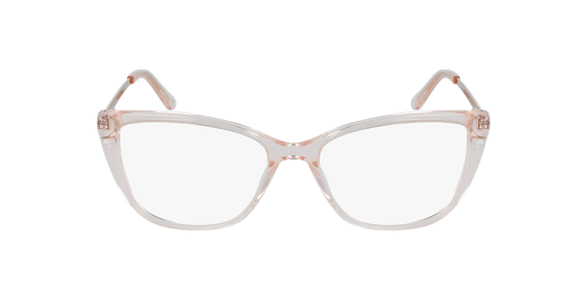 Gafas graduadas mujer ALOISE rosa - vista de frente