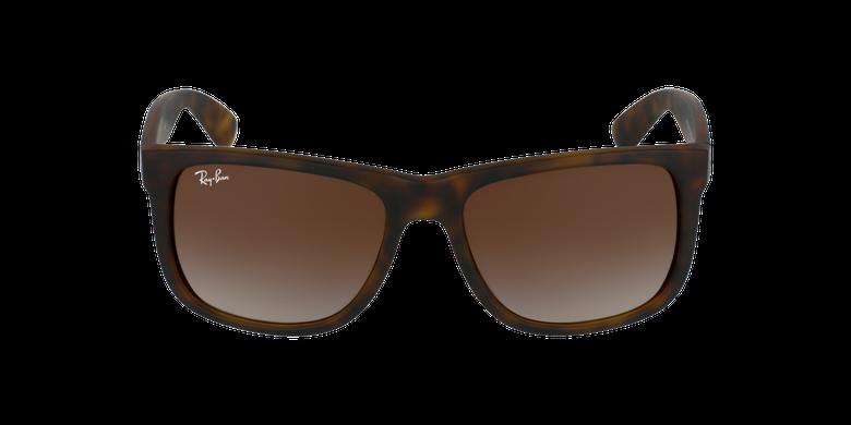 Gafas de sol hombre JUSTIN marrón/negrovista de frente
