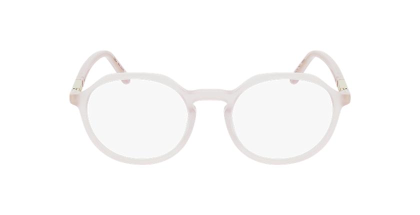 Gafas graduadas mujer COLINE rosa - vista de frente