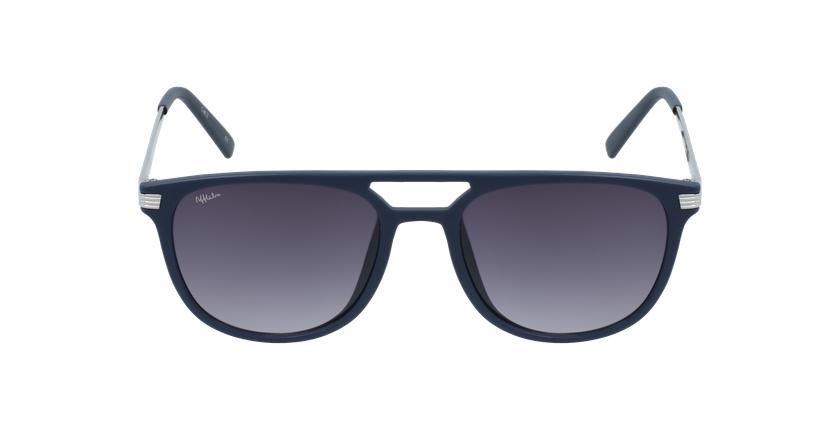 Gafas de sol hombre NIERES azul/plateado - vista de frente