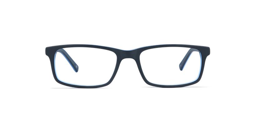 Gafas graduadas hombre LEON azul - vista de frente