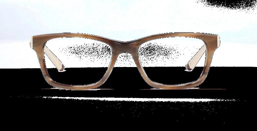Gafas graduadas mujer STONE marrón/marrón - vista de frente