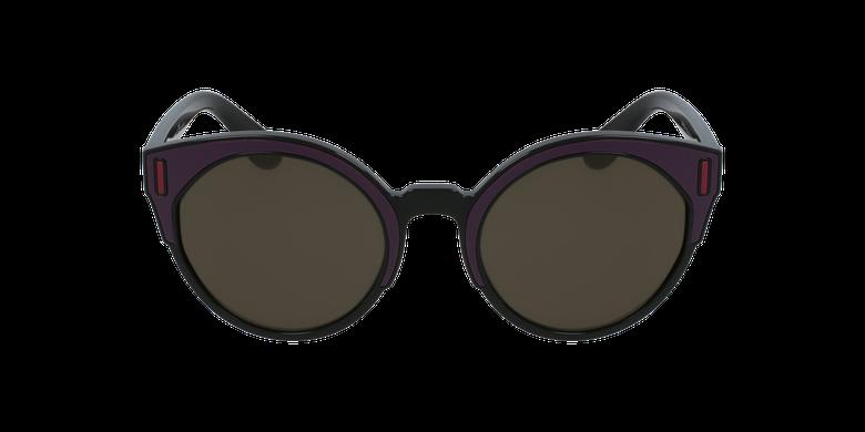 Gafas de sol mujer 0PR 03US negro/rosavista de frente
