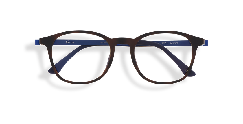 Gafas de sol hombre MAGIC 25 BLUE BLOCK carey/azul - vista de frente