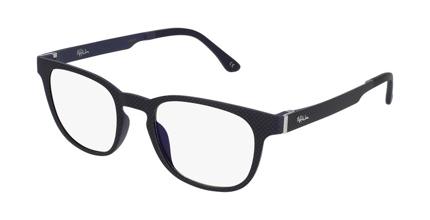 Gafas graduadas hombre MAGIC 33 BLUE BLOCK negro - vue de 3/4