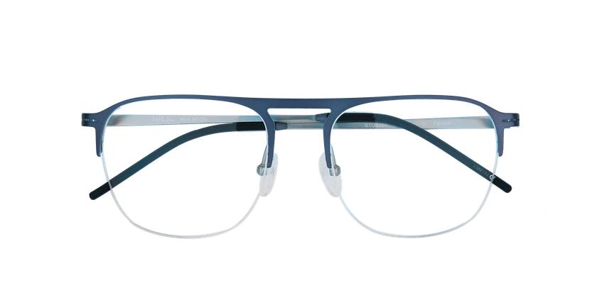 Gafas graduadas hombre NEON azul/plateado - vista de frente