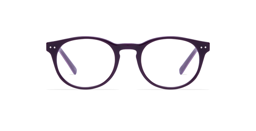 Gafas graduadas hombre RUBEN morado - vista de frente