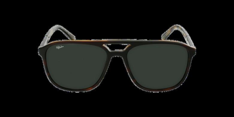 Gafas de sol hombre RICK marrónvista de frente