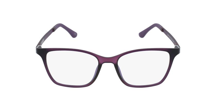 Gafas graduadas mujer MAGIC 60 BLUEBLOCK morado - vista de frente