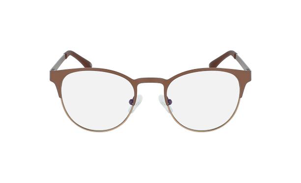 Gafas graduadas mujer MAGIC 44 BLUEBLOCK marrón/beige - vista de frente