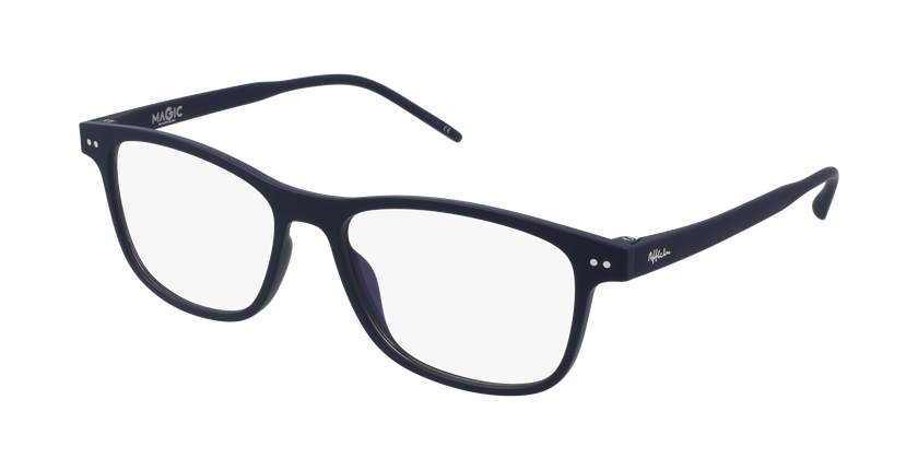 Gafas graduadas hombre MAGIC 46 BLUEBLOCK azul - vue de 3/4