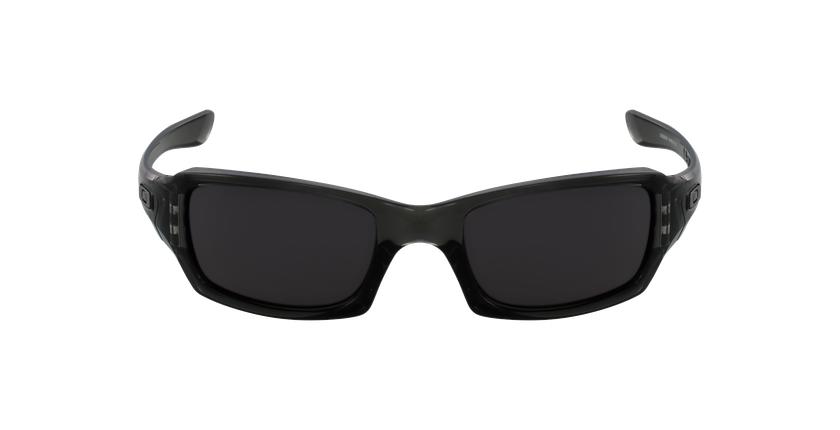 Gafas de sol hombre FIVES SQUARED negro/negro - vista de frente