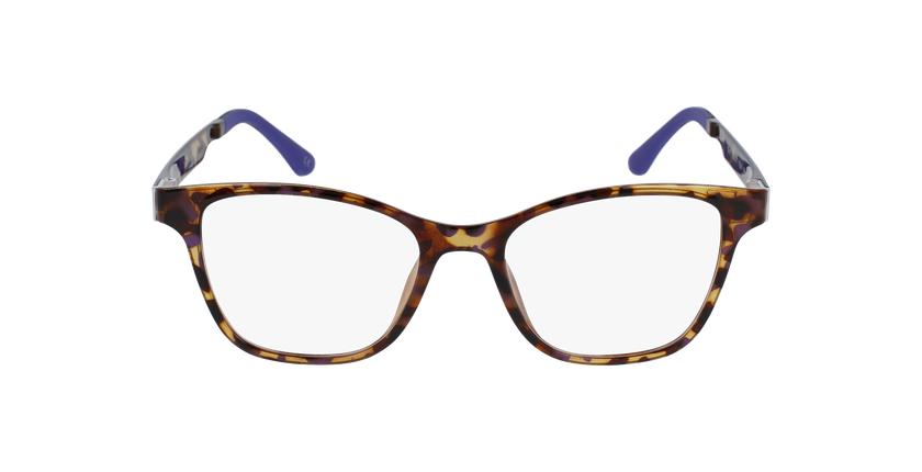 Gafas graduadas mujer MAGIC 17 carey/carey morado - vista de frente