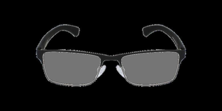 Gafas graduadas hombre EA1052 negrovista de frente