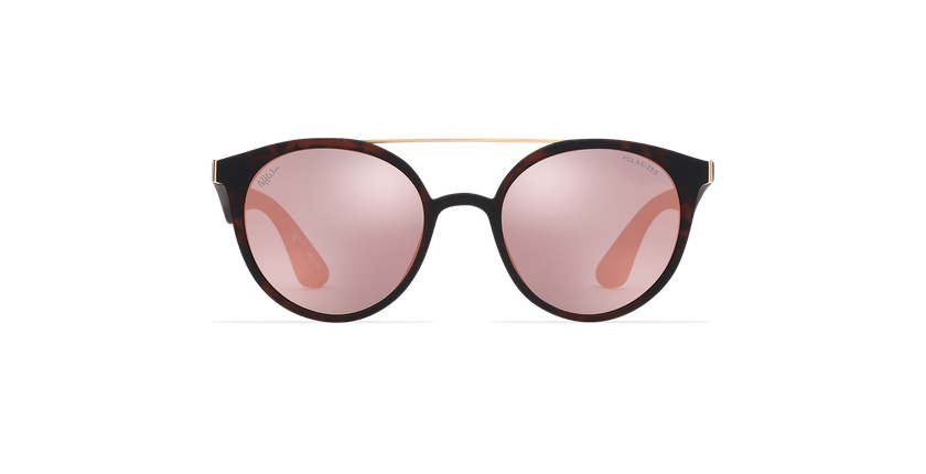 Gafas de sol mujer ANDRES POLARIZED carey - vista de frente