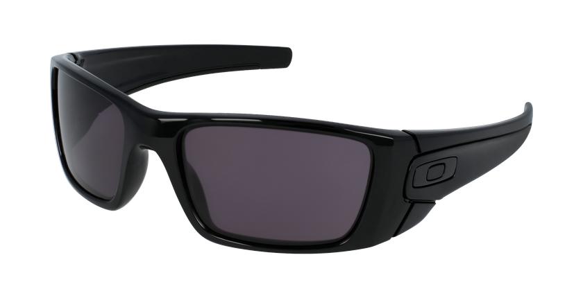 Gafas de sol hombre FUEL CELL negro - vue de 3/4