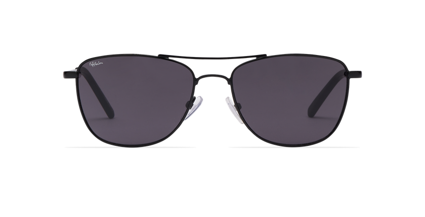 Gafas de sol hombre BELEM negro - vista de frente