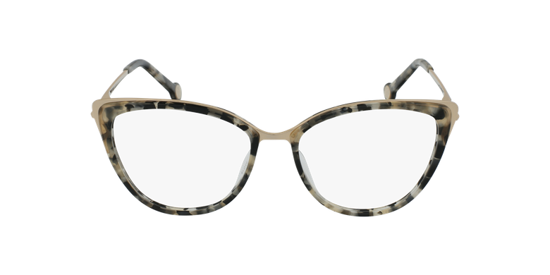 Gafas graduadas mujer VHE853 marrón/careyvista de frente