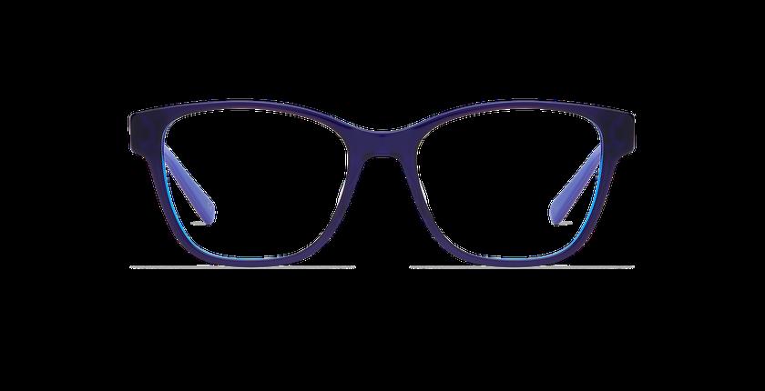 Gafas graduadas mujer KIERA azul - vista de frente