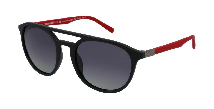 Gafas de sol hombre TB9199 negro - vue de 3/4